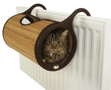 Bamboo Radiator Cat Bed