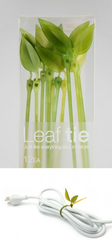 Leaf Tie Cable Organizer