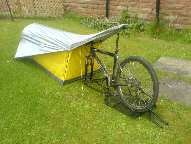 Bikamper One - Person Bicycling Tent