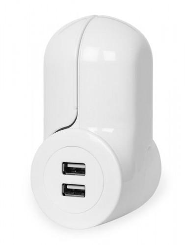 Pivot Power Mini - Wall Plug/USB Combo