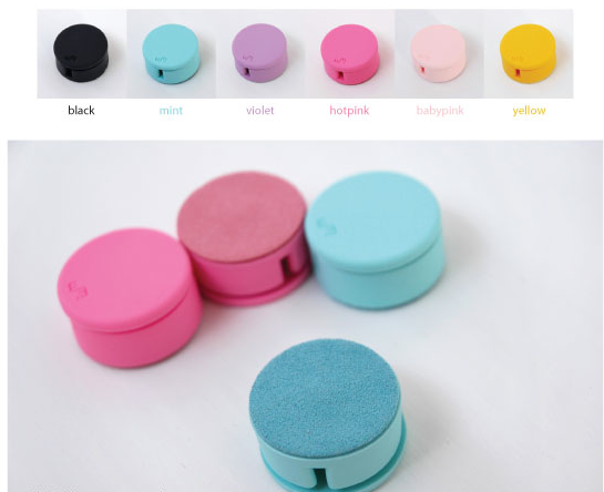 Round Earphone Winder