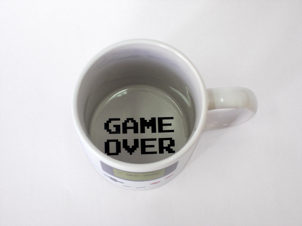 The Game Boy Coffee Mug