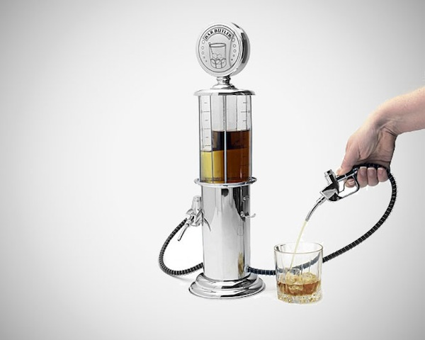 Godinger Gas Pump Liquor Dispenser