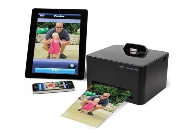 Smartphone Wireless Photo Printer - Photo Cube Inkless