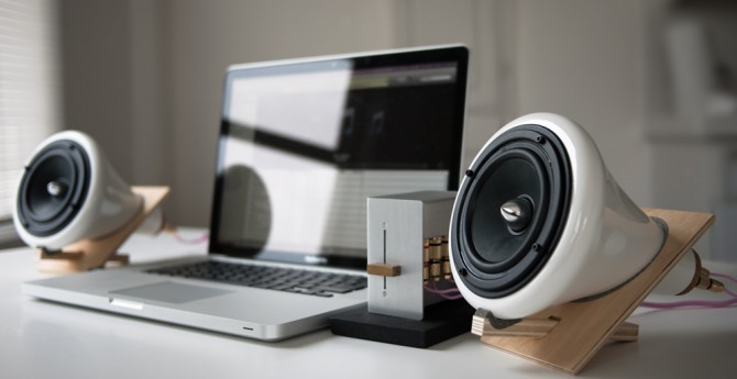 The Sound Enhancing Ceramic Speakers