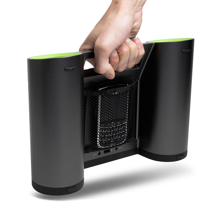 Rukus Solar Bluetooth Speakers