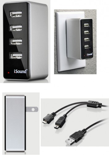 4 USB Wall Charger Pro by Richard Solo