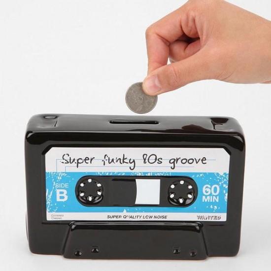 Cassette Tape Money Bank