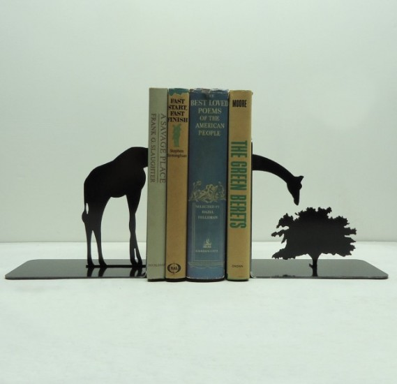 Bookends by Knob Creek Metal Arts