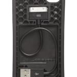 Cord On Board Black Ultra Lightweight iPhone 4S Case