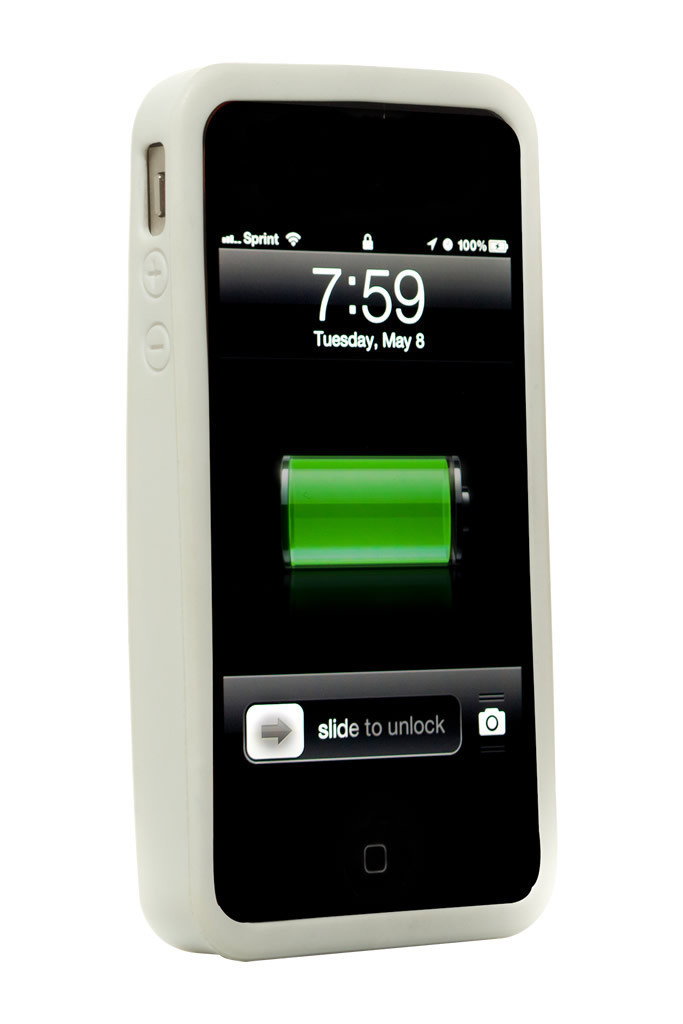 Cord On Board White Ultra Lightweight iPhone 4S Case