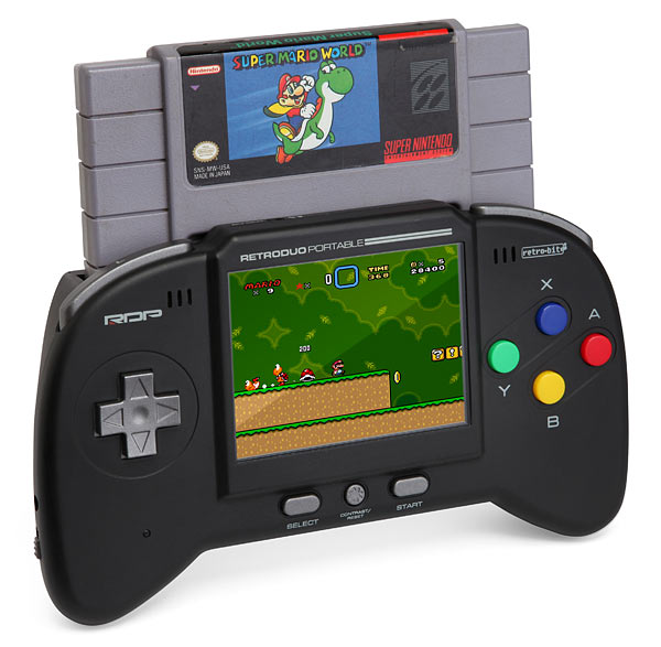 Handheld NES/SNES console - Retro Duo Portable