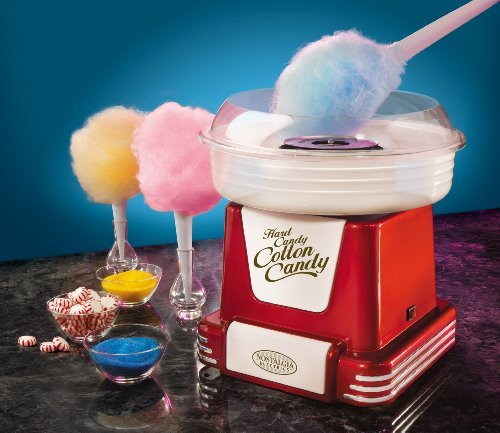 The Retro Red - Hard Candy/Sugar Free Cotton Candy Maker