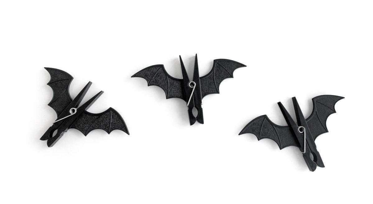 Spooky Bat Peg Clip
