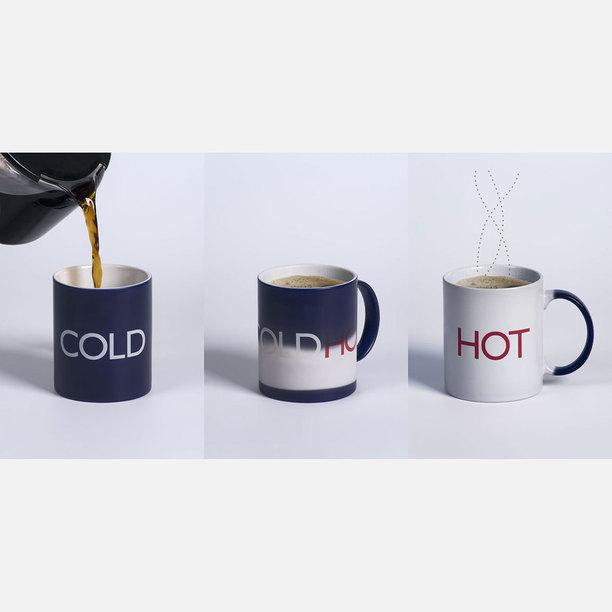 HotCold Mug by Damian O'Sullivan