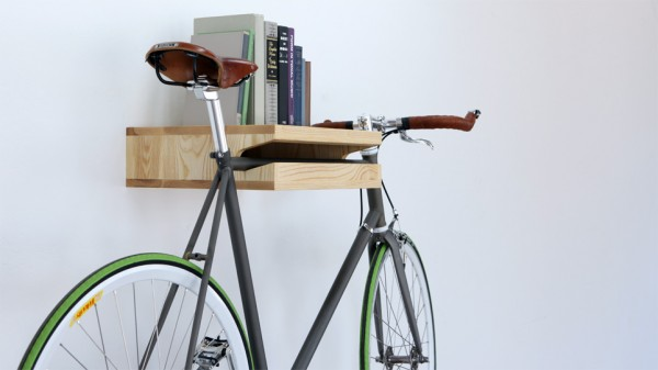 Bike rack bookshelf 03