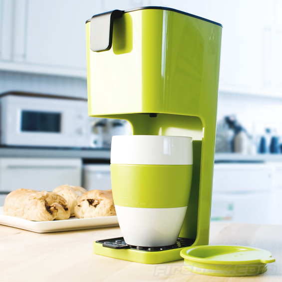Koziol Unplugged Coffee Maker (with Cup!)