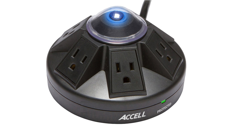 Accell Powramid Power Center and Surge Protector