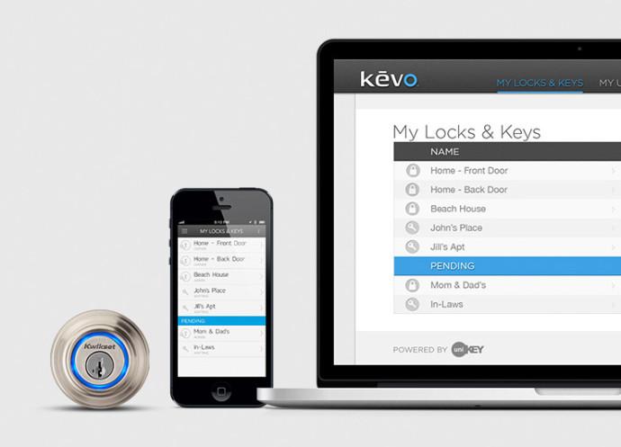 UniKey's Kevo keyless entry system