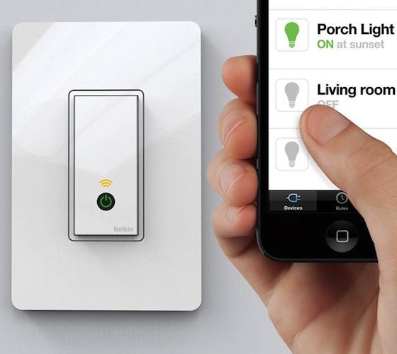 Wi-Fi Light Switch By WeMo