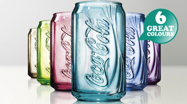 Coca Cola Can Glass