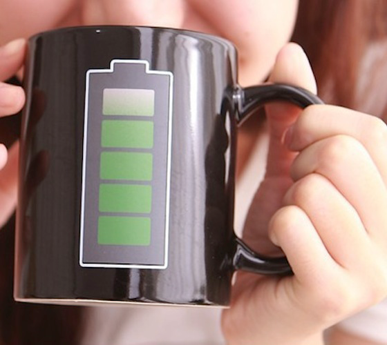 Battery Coffee Mug