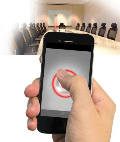 iPin Mobile-Powered Laser Pointer Presenter for iPhone