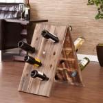 24-Bottle Riddling Rack Wine Holder