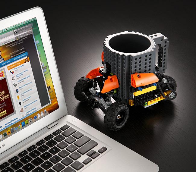 Build-On Lego Brick Mug
