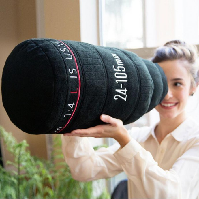 Plushtography Camera Lens Pillows