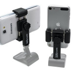 Square Jellyfish Pocket-Sized Spring Tripod Mount for Smartphones