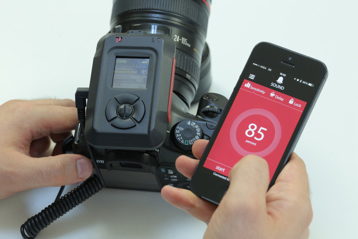 MIOPS - Smartphone Controllable Camera Trigger for High Speed Photography