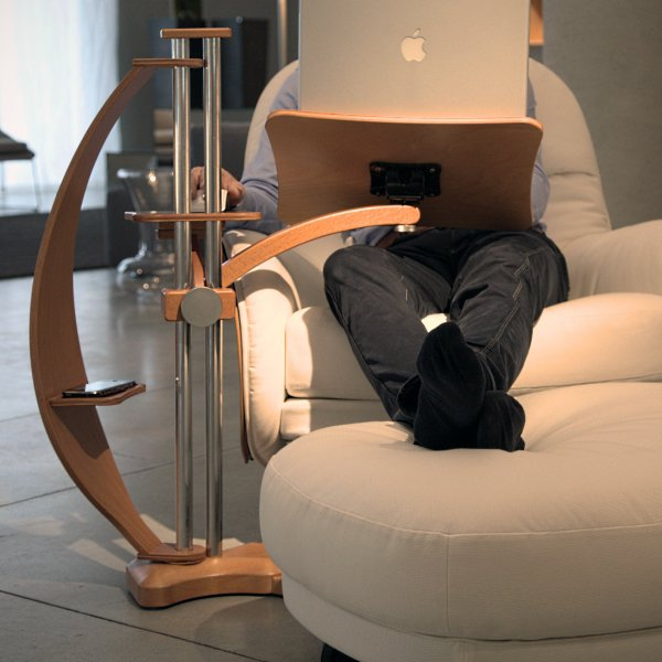 Ergonomic Laptop Table By Lounge-Tek