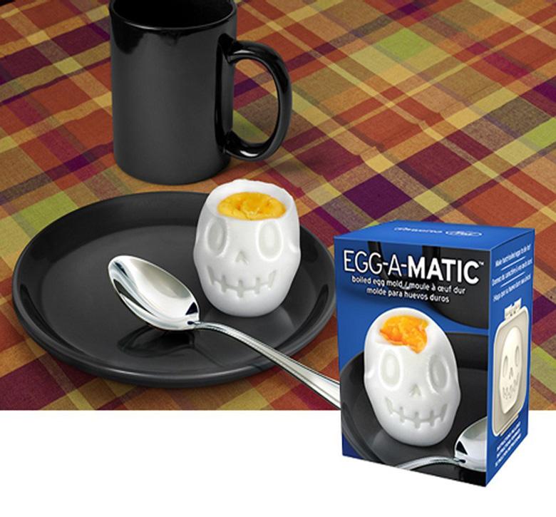 Egg-A-Matic Skull Shaped Boiled Egg Mold