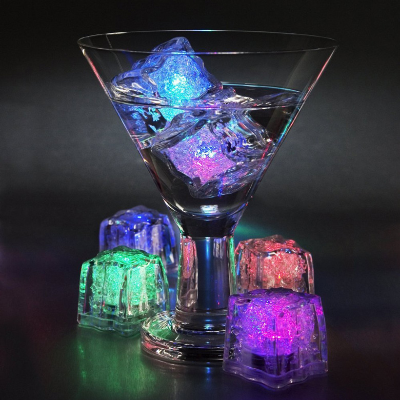 Color Changing LED Ice Cubes