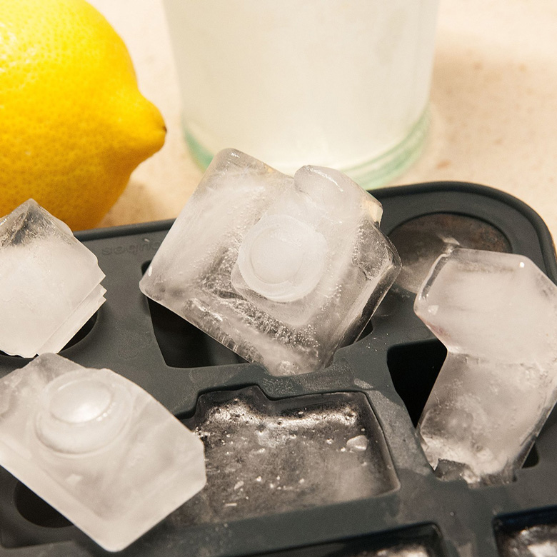 PhotoPhreezePhun Camera Ice Cubes