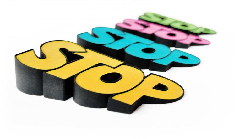 Stop Doorstop Multiple Colors