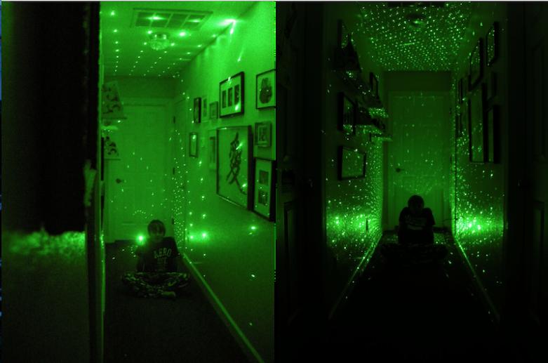 Firefly Laser Lamp