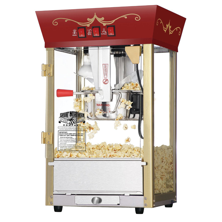 Movie Theater Style Popcorn Machine