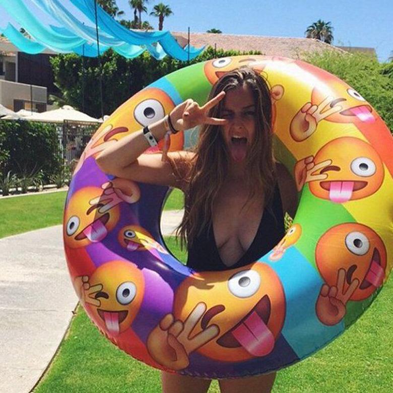 Emoji Pool Inflatable