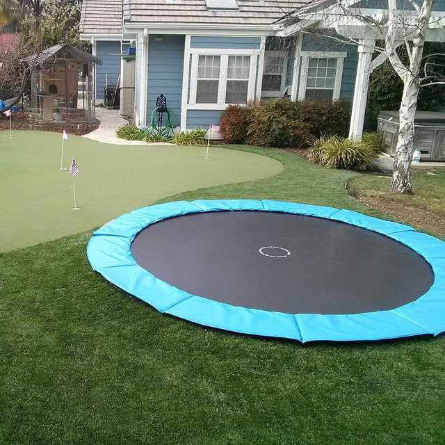 In Ground Trampoline Kit Daily Cool Gadgets