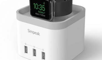 Simpeak 4-port USB Charging Dock Statio