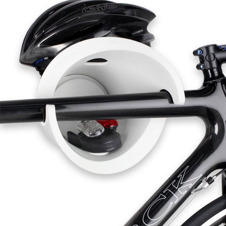 Cycloc Bike Rack System White
