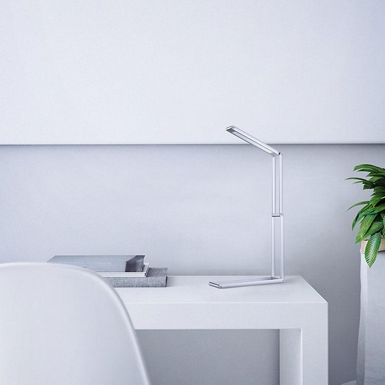 Aukey rechargeable led table lamp aloadofball Choice Image