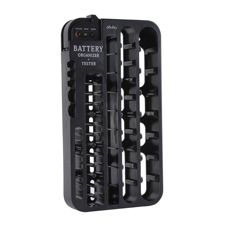 Ohuhu Battery Organizer and Tester