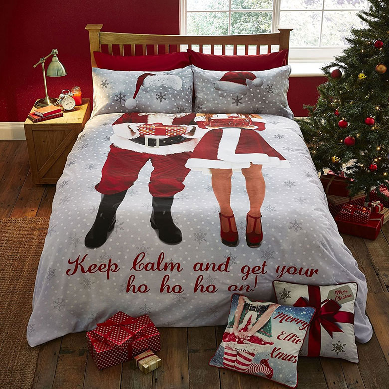 Christmas Cotton Bed Cover Set