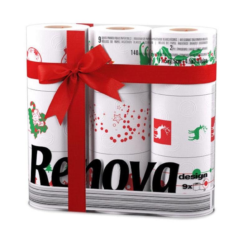 Christmas Toilet Paper Rolls