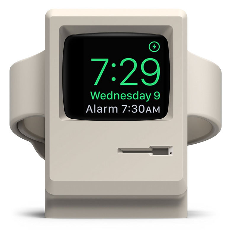 Vintage Apple Monitor Stand for Apple Watch
