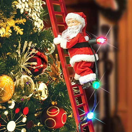 Mr. Christmas Super Climbing Santa Holiday Decor